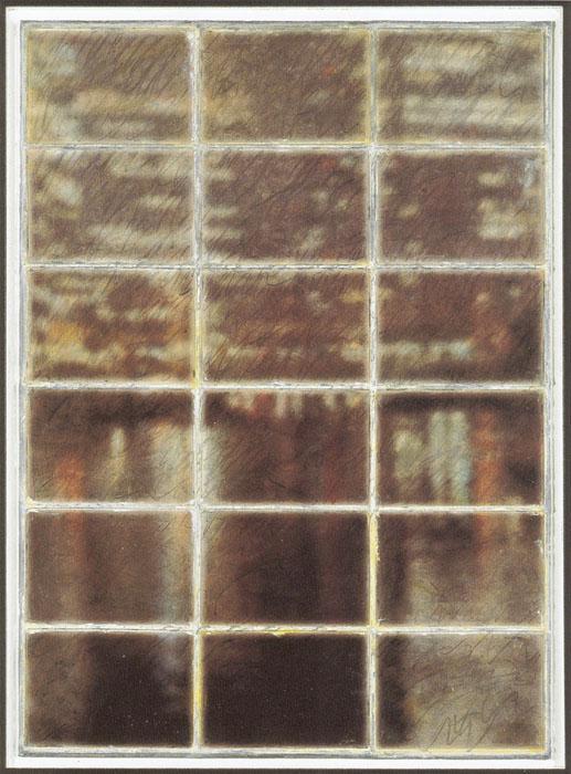 臨界(川面の表と裏ー街)|2007